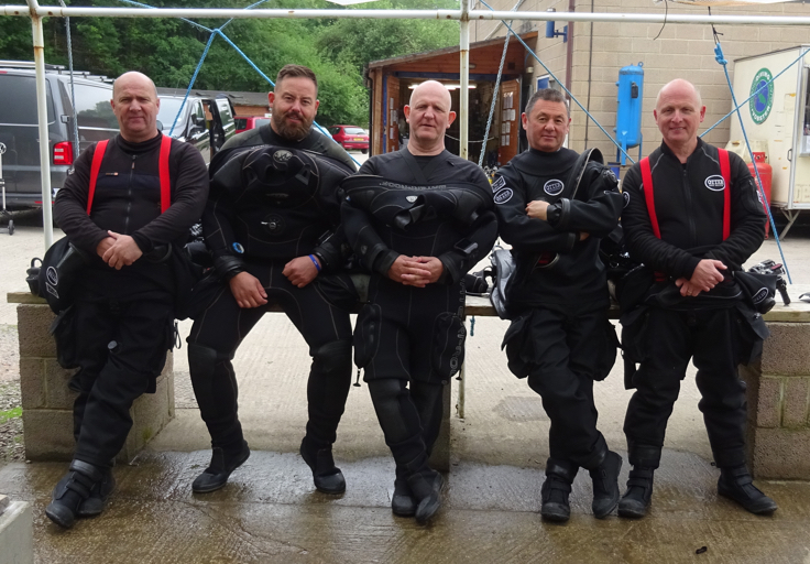 AquaV Scuba Diving School Team